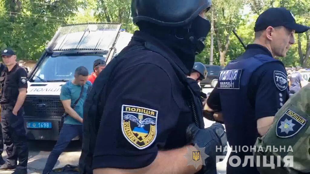 Полиция подавила бунт в одесской колонии