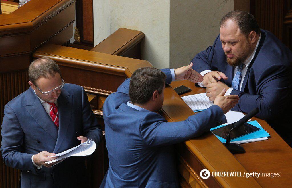Представник президента у ВРУ Руслан Стефанчук