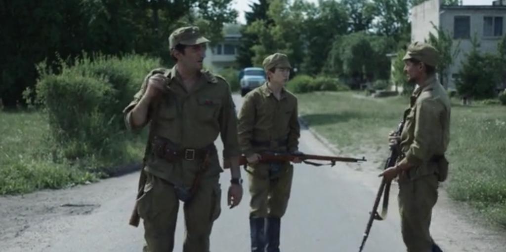 """Солдати відстрілюють тварин - """"Чорнобиль"""""""