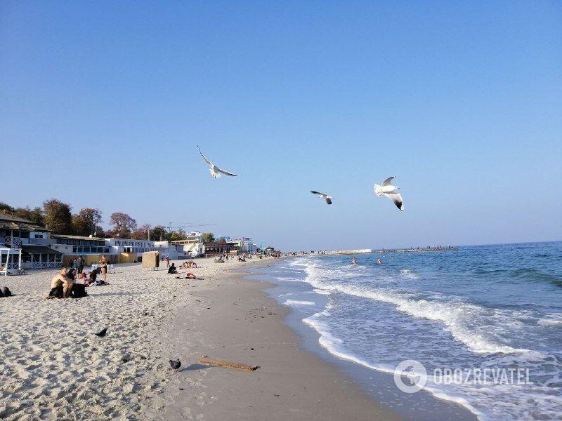Пляж Ланжерон в Одесі