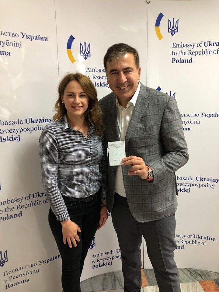 Михеил Саакашвили в Польше