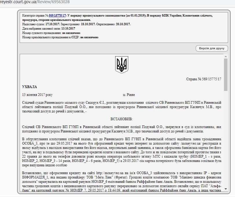 Кредиты без подписи и под 500%: от Манивео массово страдают украинцы
