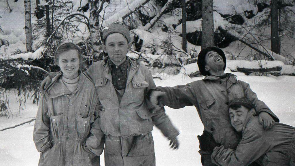 Участники группы Дятлова, архивное фото