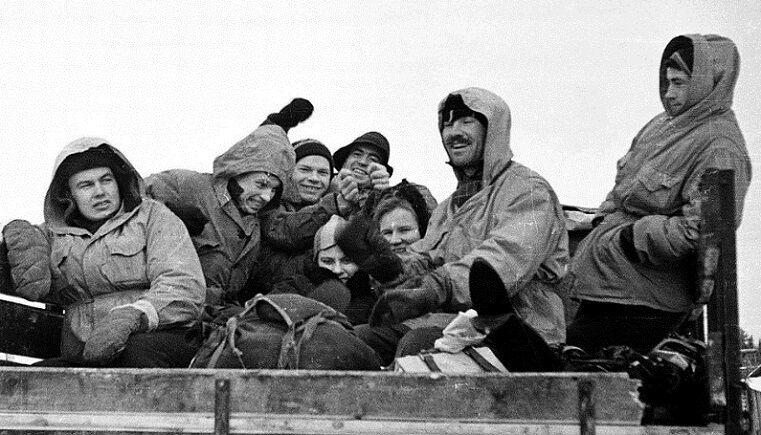 Группа Дятлова, архивное фото