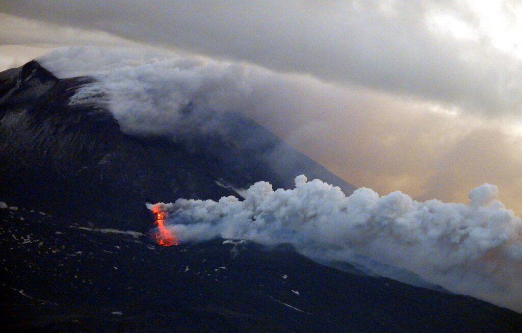 сердцевидные, очень вулкан в средиземном море фото купирует жизнедеятельность