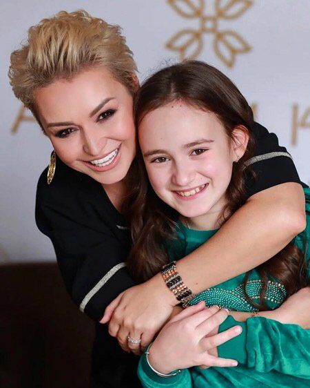 Катя Лель и дочь Эмилия
