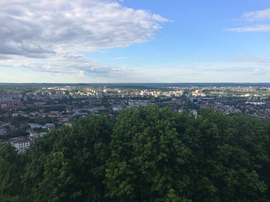 Високий Замок — найвища точка Львова