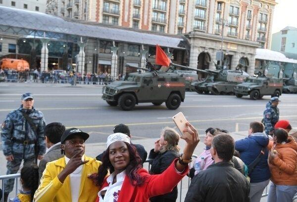 Репетиція параду в Москві