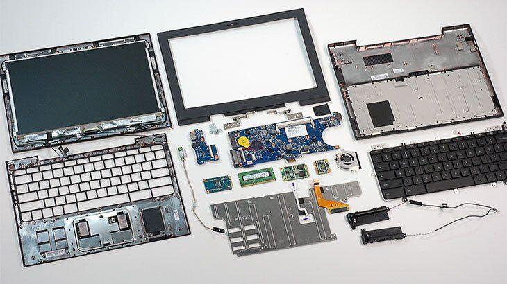 Запчасти для ноутбуков: оригинальные детали высокого качества