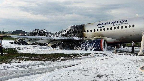 Крушение самолета: спасать было некого, люди горели заживо