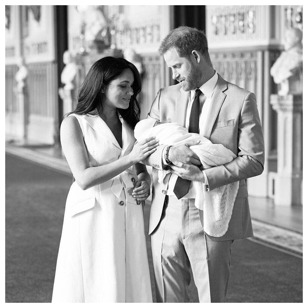 Меган Маркл и принц Гарри раскрыли имя сына