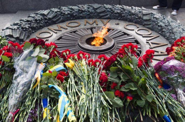 Могила невідомому солдату у Києві