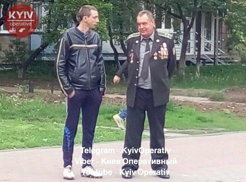Под Киевом пьяный полковник устроил ДТП: фото виновника