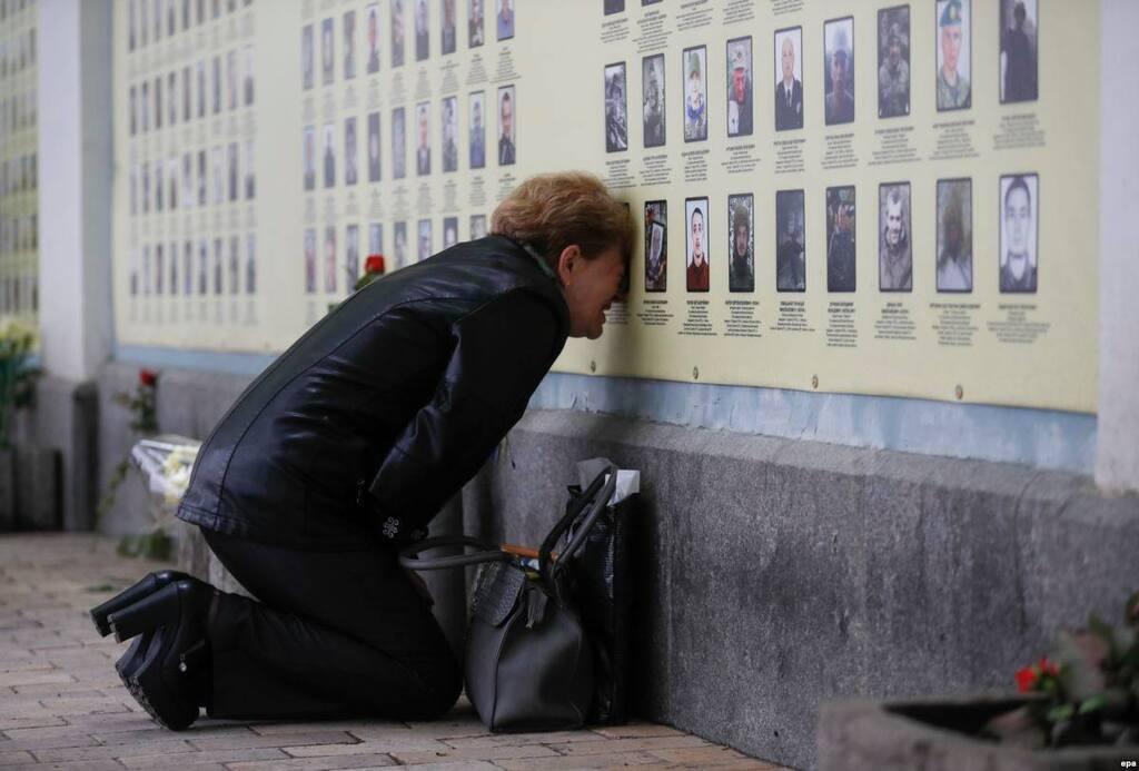 Матері загиблих Героїв змусили плакати українців