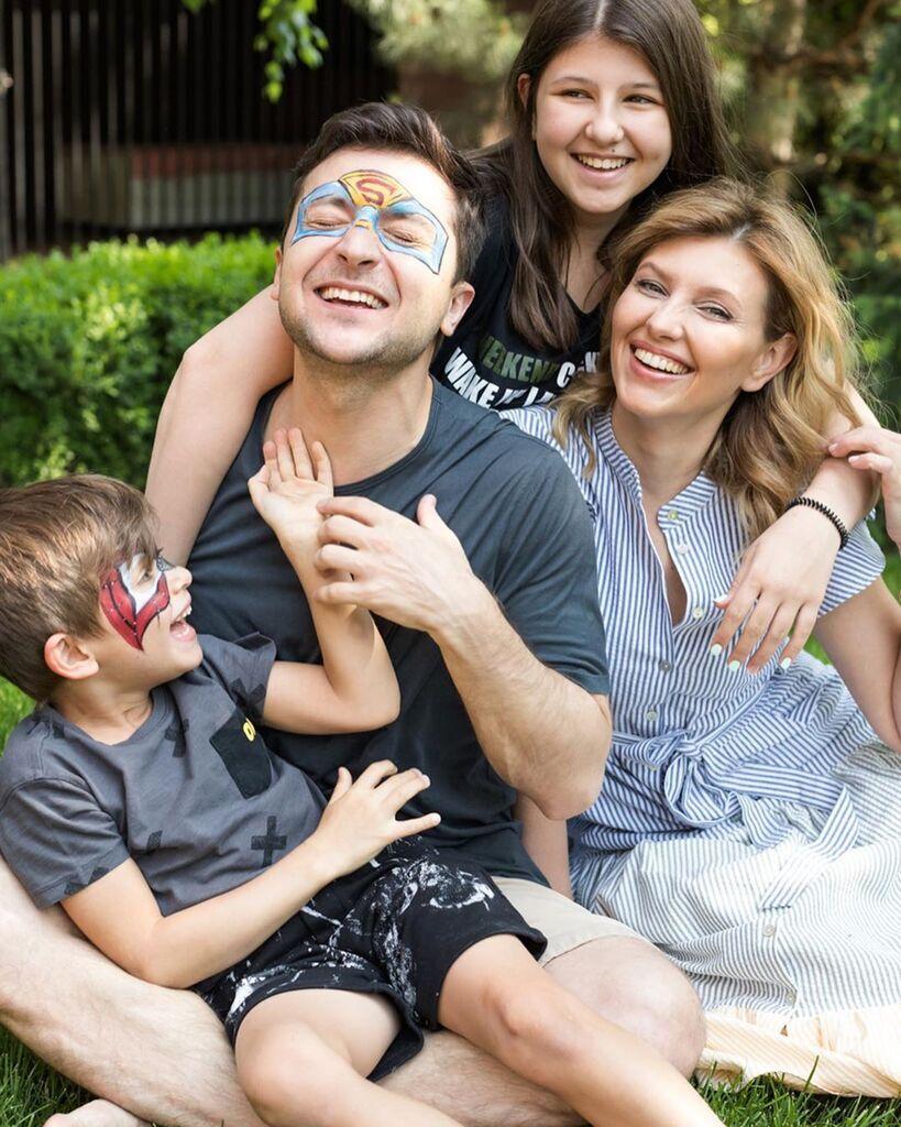Семейное фото Зеленских