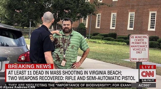 Стрелял без разбора: в США чиновник зверски убил 12 человек