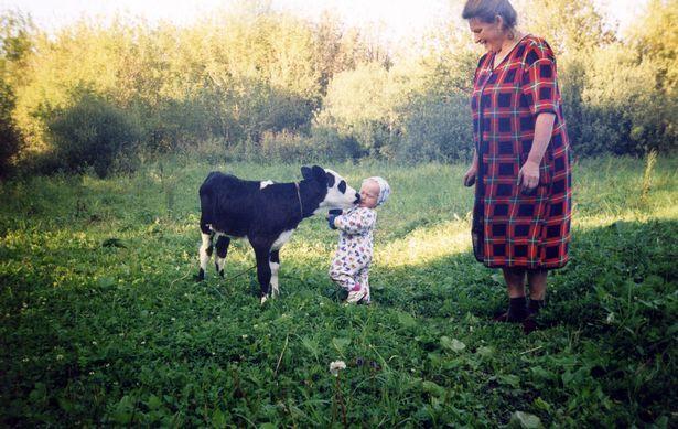 Мария в детстве