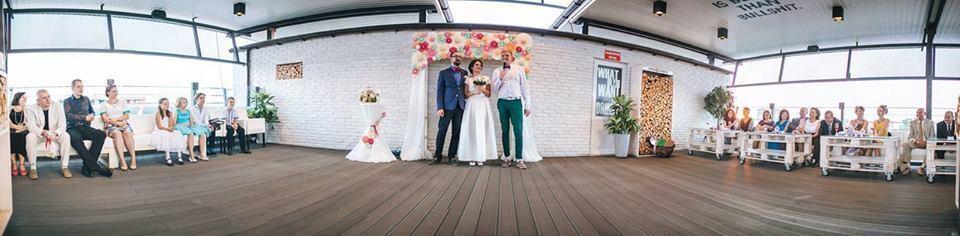 Ігор Кривошеєв веде весілля