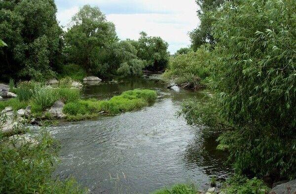 Река Рось считается самой чистой
