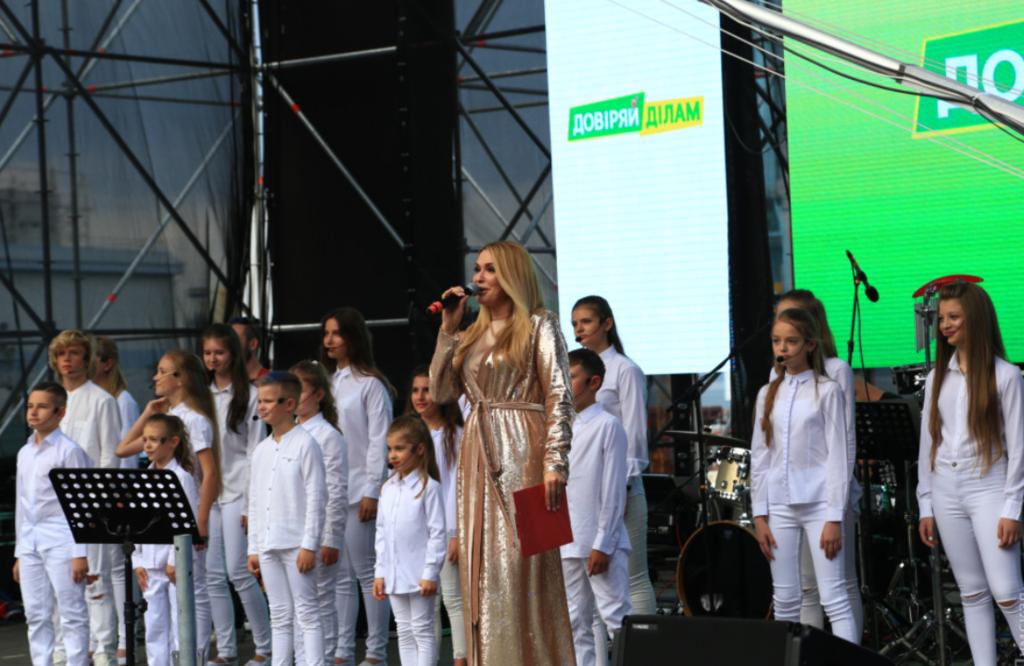 Сумская на концерте в Одессе
