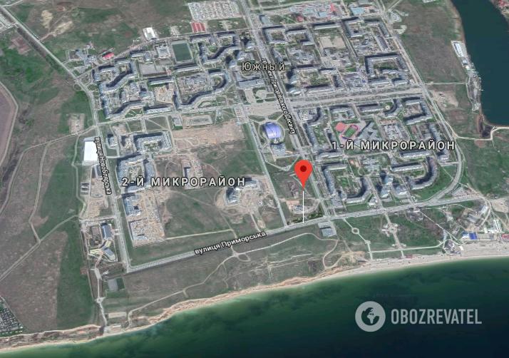 Преступление произошло на ул. Приморской