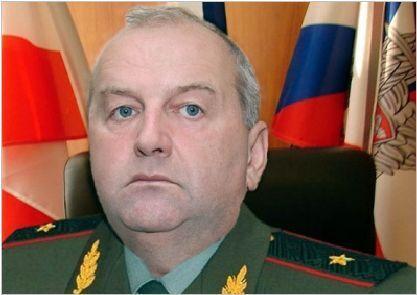 Российский генерал-лейтенант Сергей Юдин
