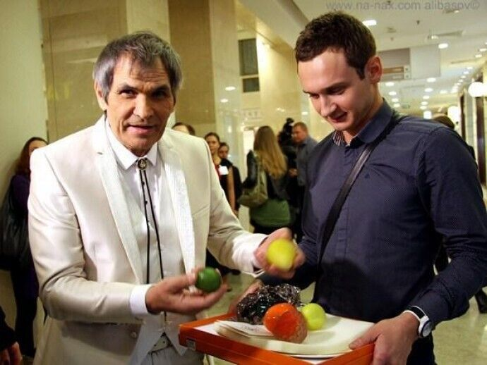 Бари Алибасов и Сергей Моцарь