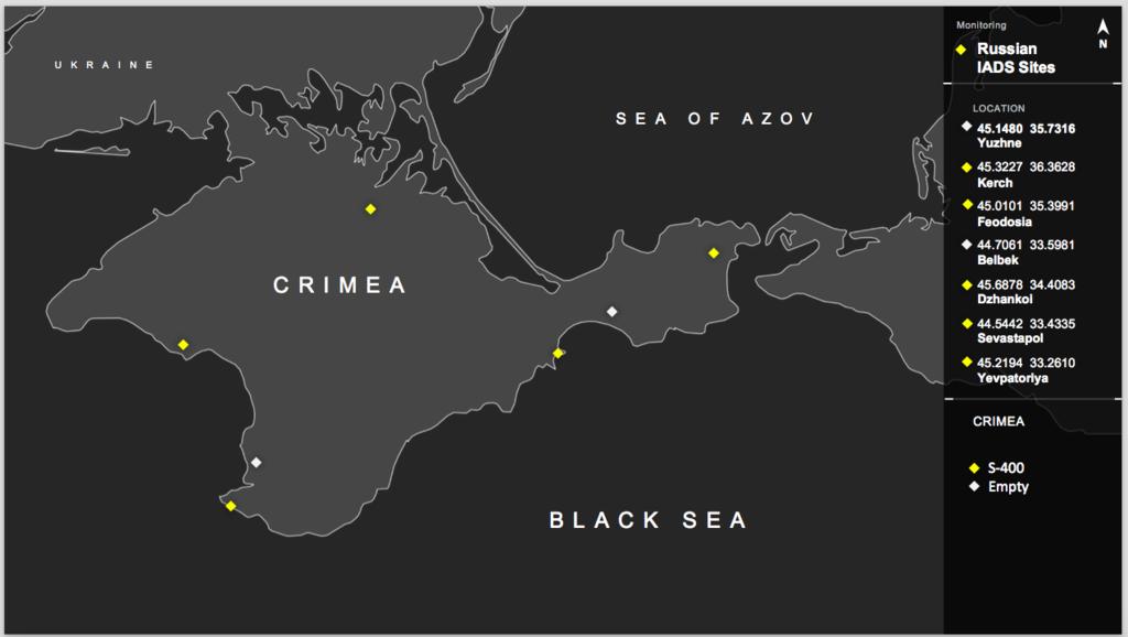 Военное наращивание в Крыму