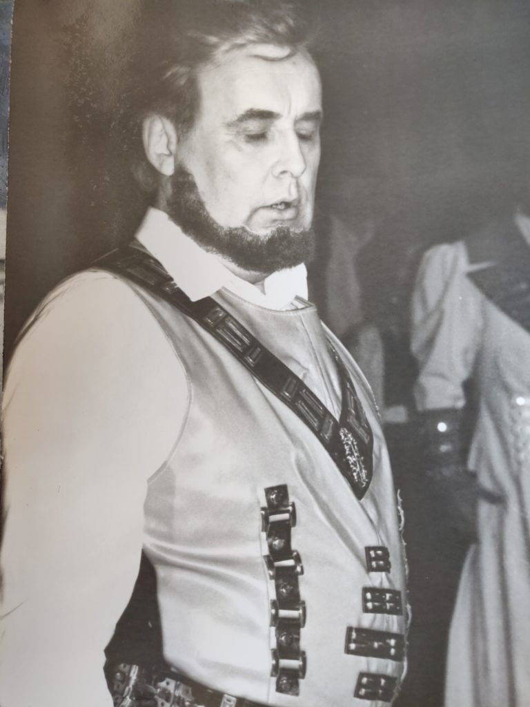 Роман Витошинский в сценическом образе