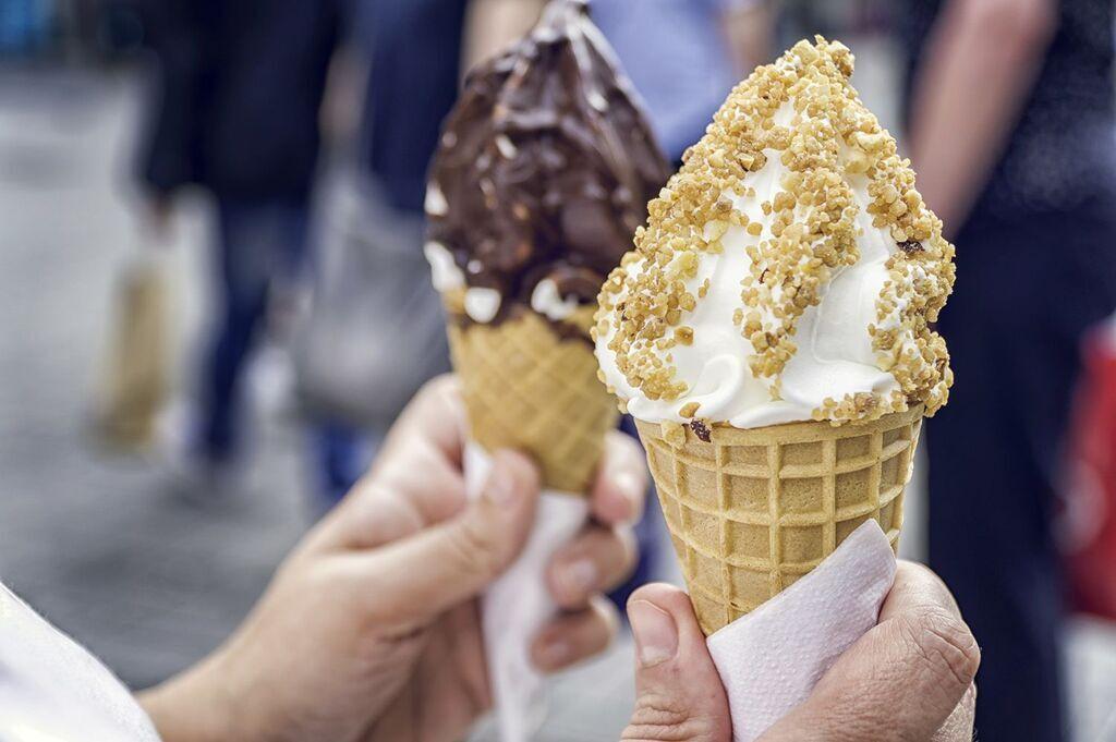 М'яке морозиво з фрізера