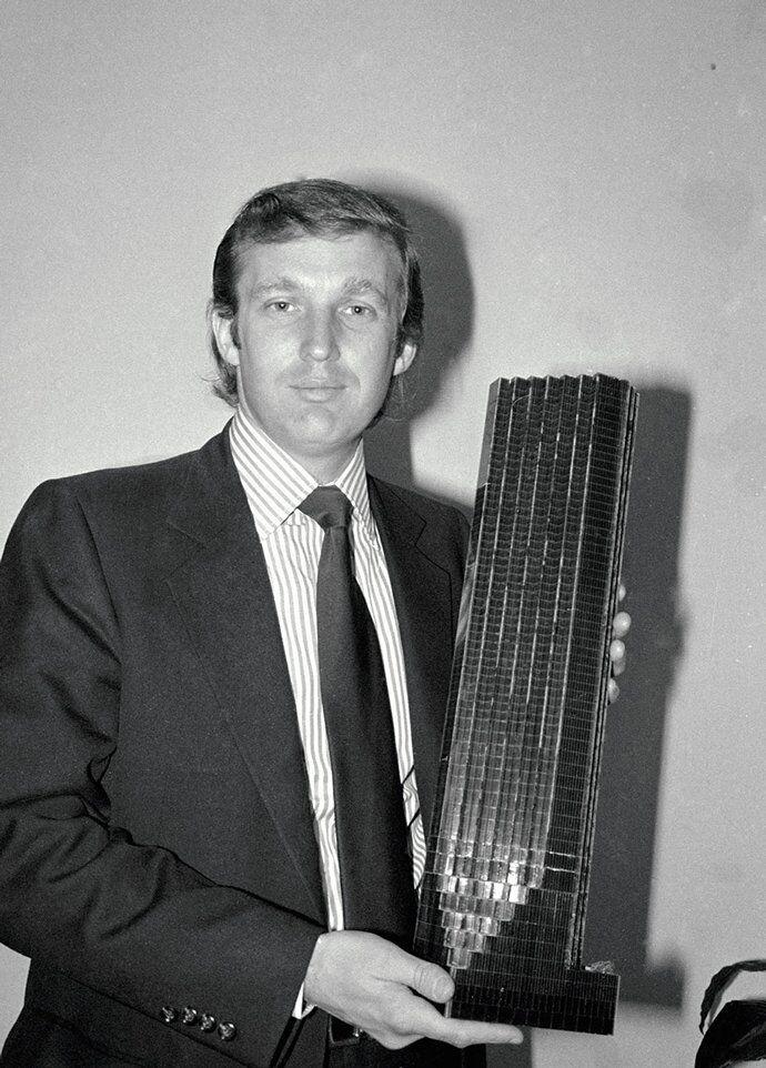 картинки дональд трамп в молодости три