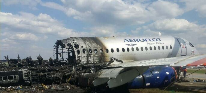 Катастрофа SSJ-100 в Шереметьево