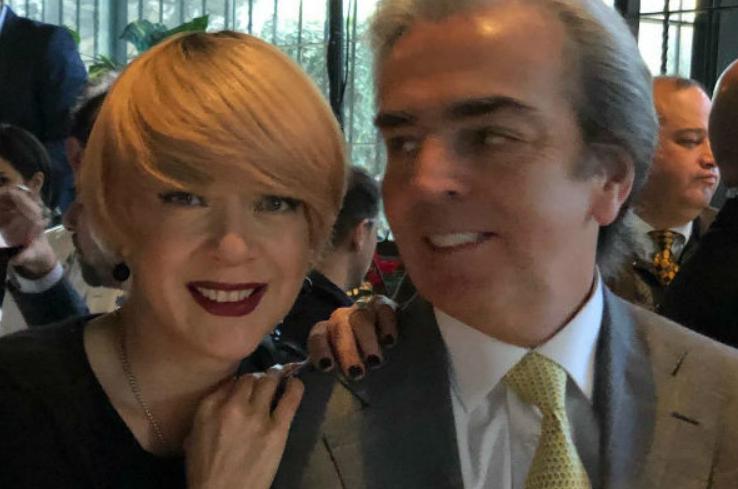 Эдит Гонсалес с мужем