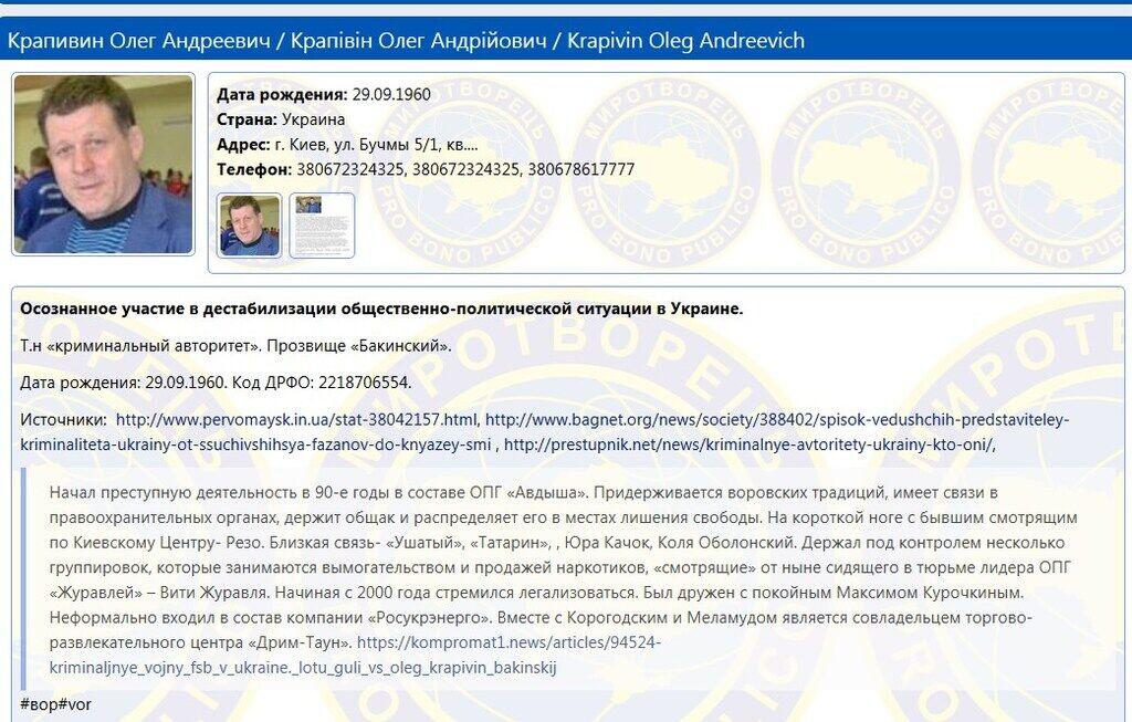 """Пришел к """"авторитету"""": подробности громкого скандала в Киеве"""
