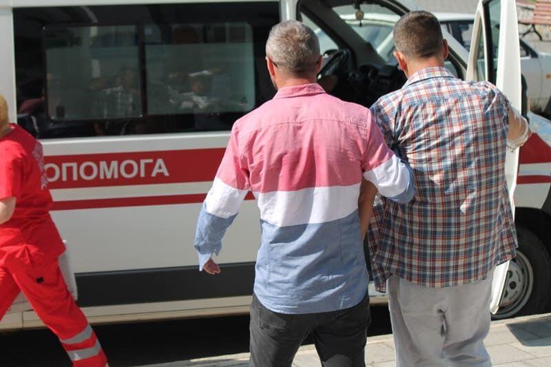 Самопідпал на засіданні міськради Бердичева