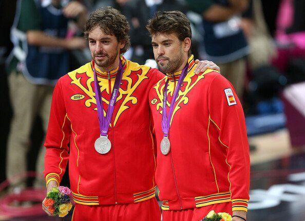 Братья Газоль в составе сборной Испании