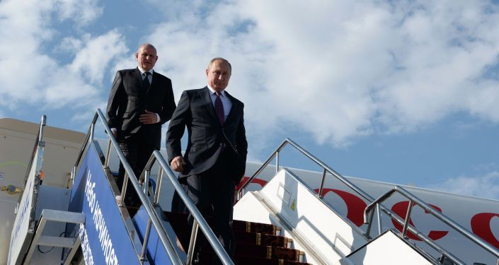 Рабочий визит Путина в Кыргызстан