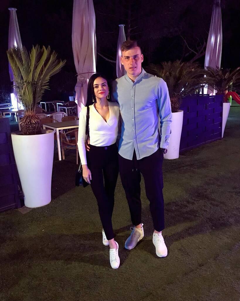 Анастасия – девушка Андрея Лунина