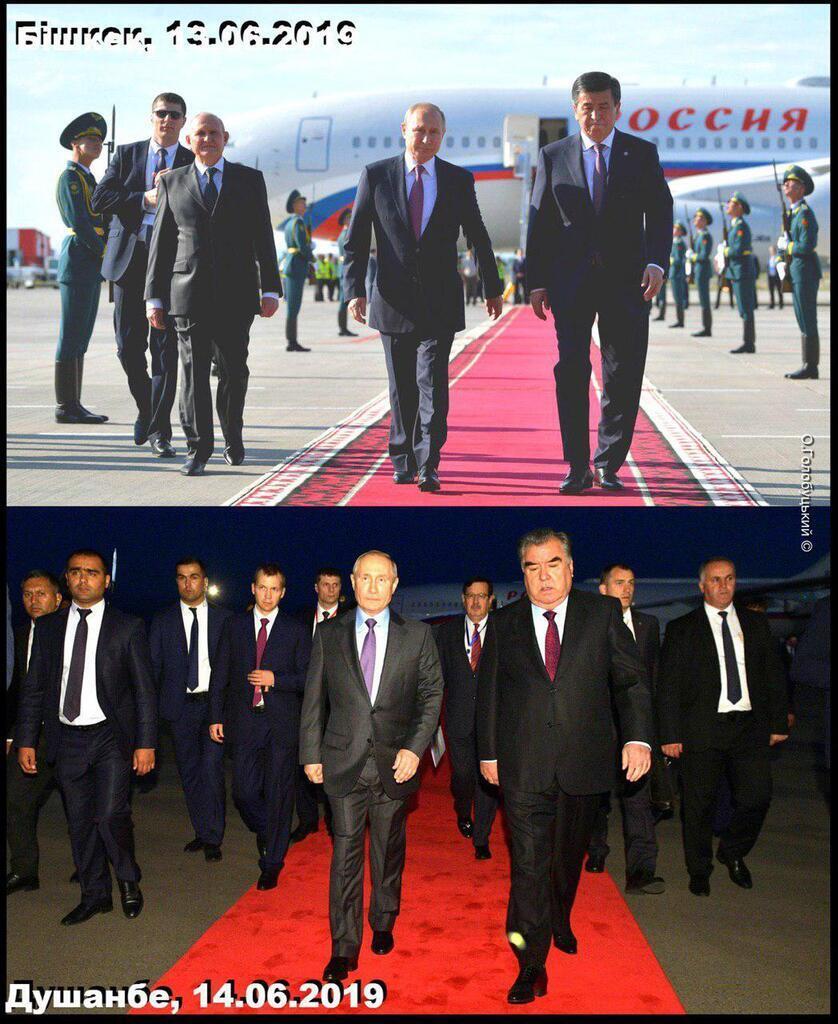 Фото двойника Путина озадачило сеть