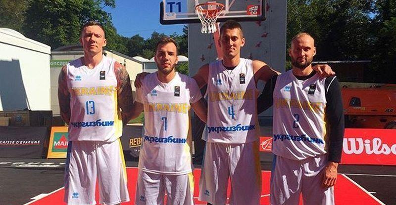 Сборная Украины 3х3 вышла в финал турнира в Вуароне