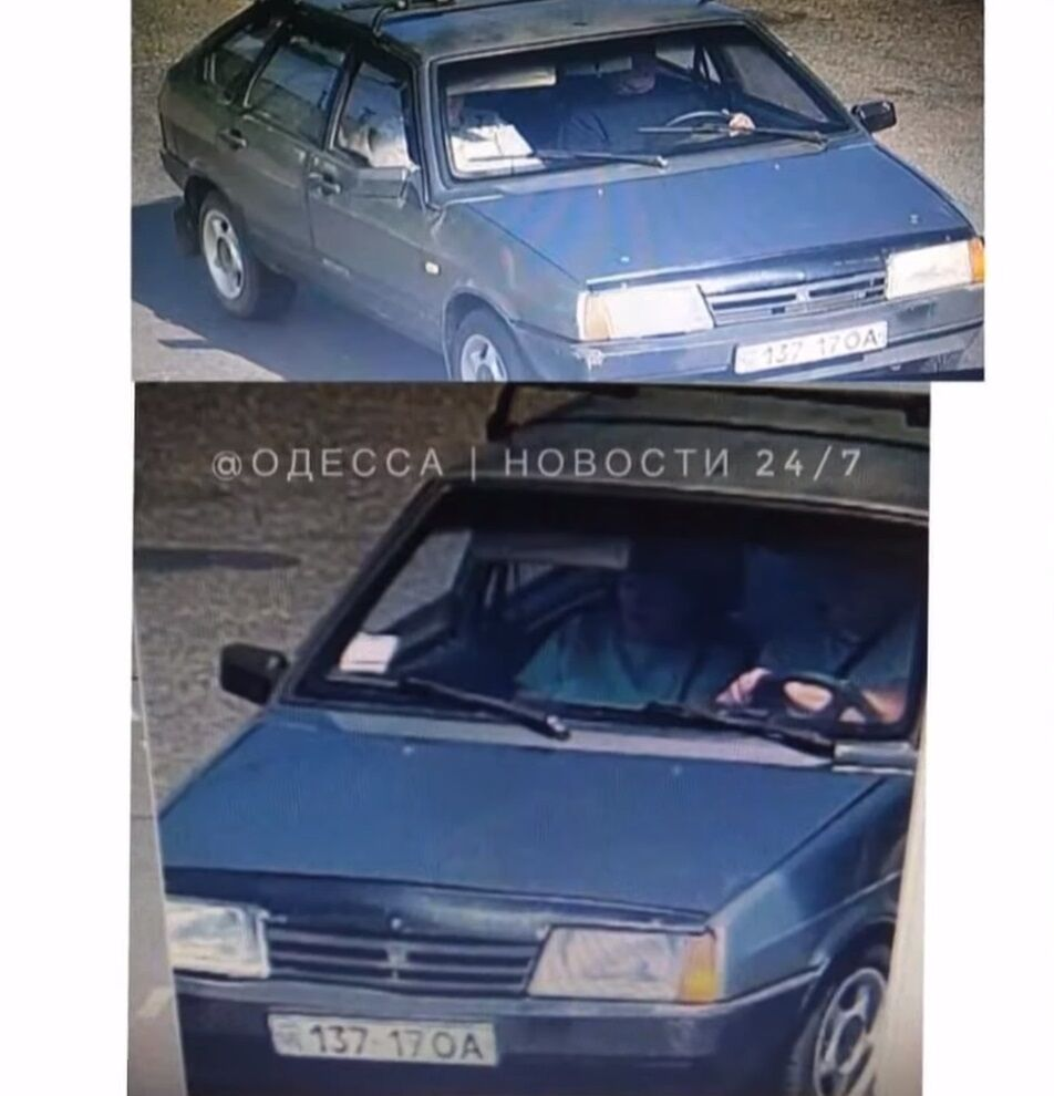 Авто возможных похитителей