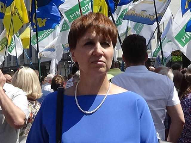 Ирина Побидаш, экс-председатель Вышгородского райсовета