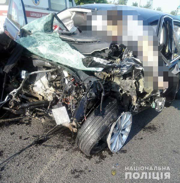 Авария в Ривненской области