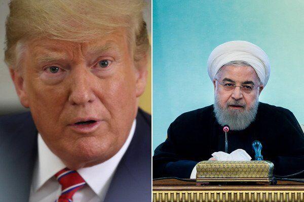 Дональд Трамп і Хасан Рухані