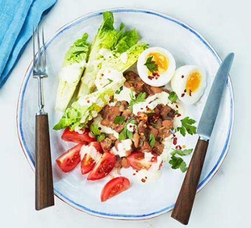 Египетский яичный салат