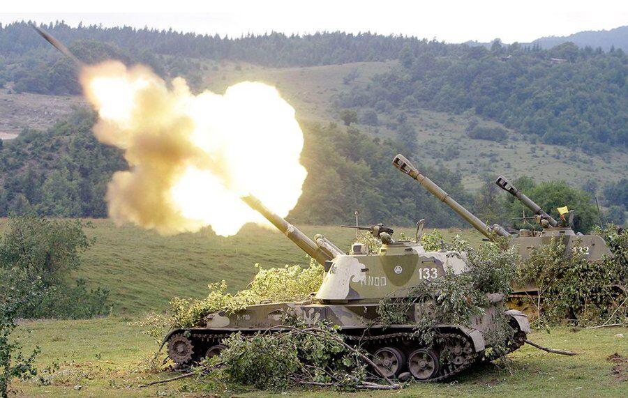 """САУ 2С3 """"Акация"""" – самоходная гаубица калибра 152-мм"""