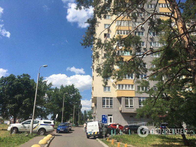 Будинок на бульварі Перова, де знайдено мертвим Тимчука