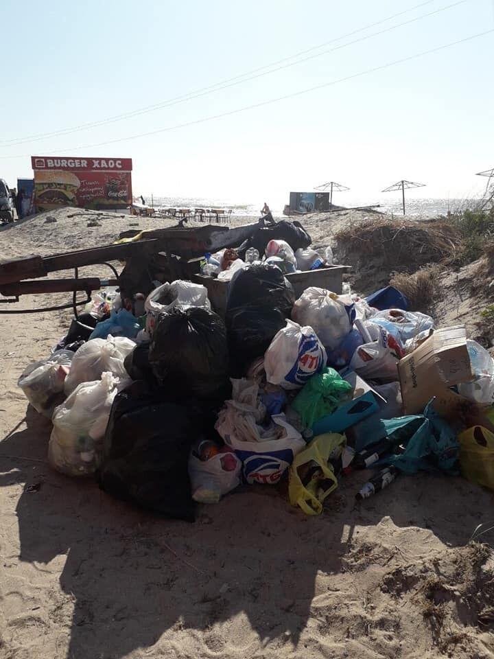 Влаштували смітник: з'явилися відразливі фото з курорту України