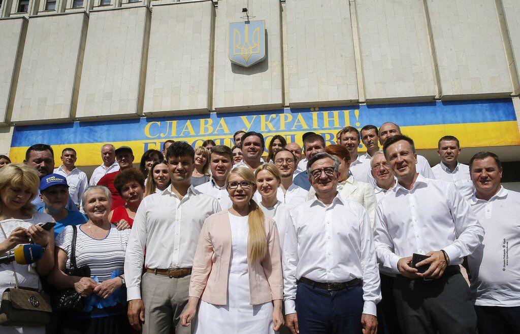 Юлія Тимошенко і команда партії
