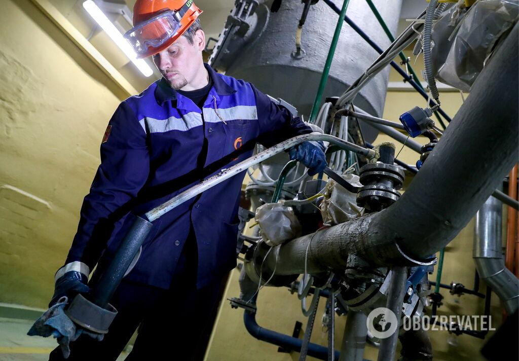 Рабочие в Украине